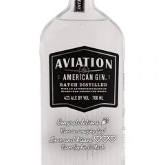 Personalised Aviation Gin