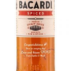 Personalised Bacardi Spiced Rum