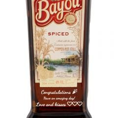 Personalised Bayou Spiced Rum