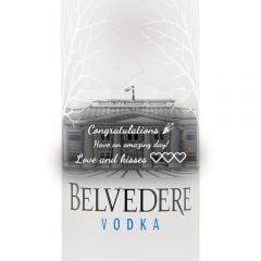 Personalised Belvedere Vodka