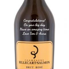 Personalised Billecart Salmon Brut Rose