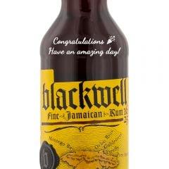 Personalised Blackwell Black Gold Fine Jamaican Rum