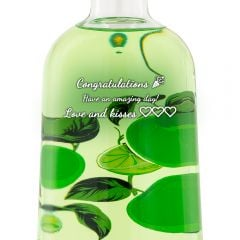 Personalised Boe Apple & Lime Gin