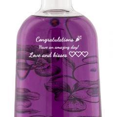 Personalised Boe Violet Gin