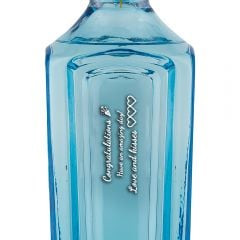 Personalised Bombay Sapphire Star of Bombay