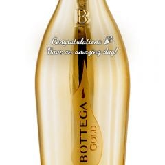 Personalised Bottega Gold Prosecco