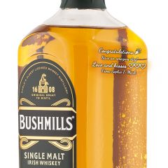 Personalised Bushmills 10 Year Old