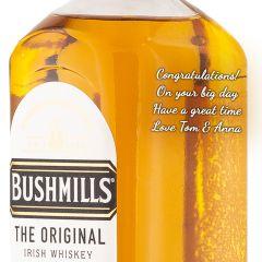 Personalised Bushmills Original 1 Litre