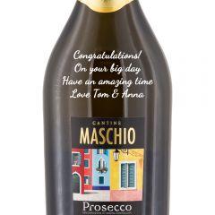 Personalised Calle d'Oro Maschio Prosecco