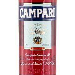 Personalised Campari