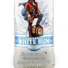 Personalised Captain Morgan White Rum