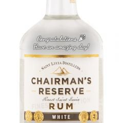 Personalised Chairman's Reserve White Label