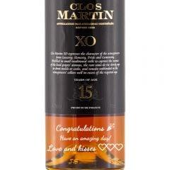 Personalised Clos Martin XO 15 Year Old Armagnac