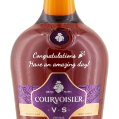 Personalised Courvoisier VS 1 Litre