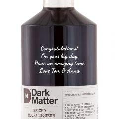 Personalised Dark Matter Spiced Mocha Liqueur