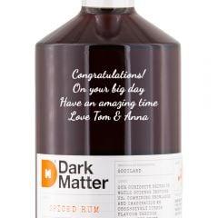Personalised Dark Matter Spiced Rum