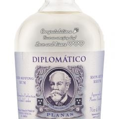 Personalised Diplomatico Planas White Rum