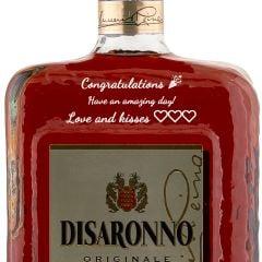 Personalised Disaronno Liqueur 1 Litre