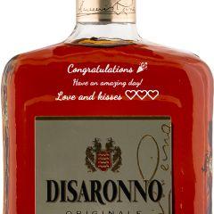 Personalised Disaronno Liqueur 70cl