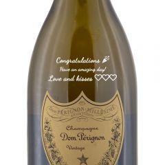 Personalised Dom Perignon Vintage Champagne