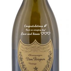 Personalised Dom Perignon Vintage Magnum Champagne 150cl