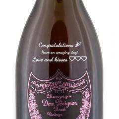 Personalised Dom Perignon Vintage Rose