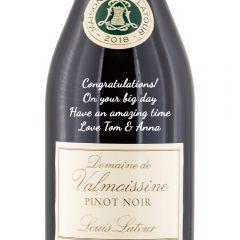 Personalised Louis Latour Domaine De Valmoissine Pinot Noir