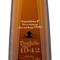 Personalised Don Julio 1942 Tequila