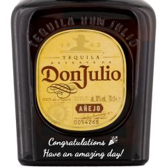 Personalised Don Julio Anejo Tequila