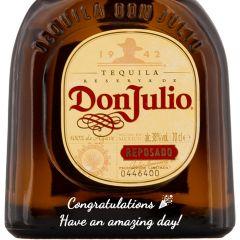 Personalised Don Julio Reposado Tequila