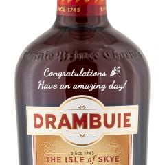Personalised Drambuie Whisky Liqueur 50cl