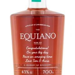 Personalised Equiano Rum