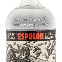 Personalised Espolon Blanco Tequila