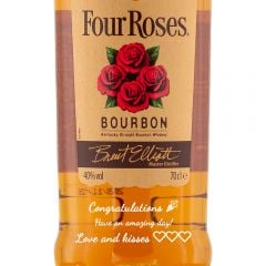 Personalised Four Roses Bourbon