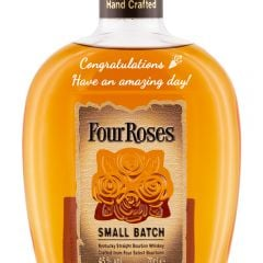 Personalised Four Roses Small Batch Bourbon