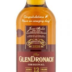Personalised Glendronach 12 Year Old