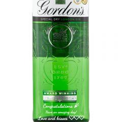 Personalised Gordon's London Dry Gin