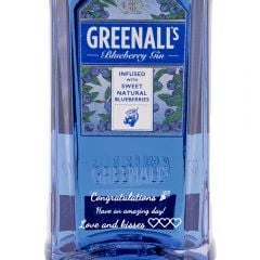 Personalised Greenalls Blueberry Gin