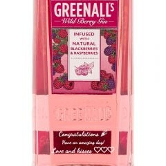 Personalised Greenall's Wild Berry 1 Litre