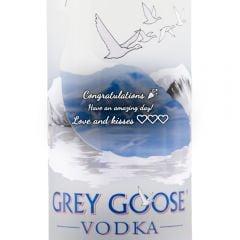 Personalised Grey Goose Magnum Vodka 175cl