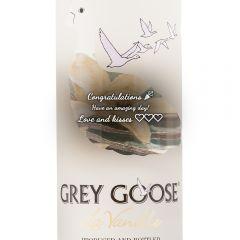 Personalised Grey Goose Vanilla