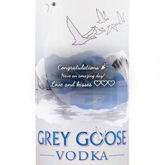 Personalised Grey Goose Vodka