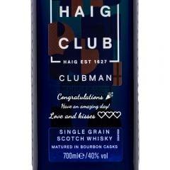Personalised Haig Clubman