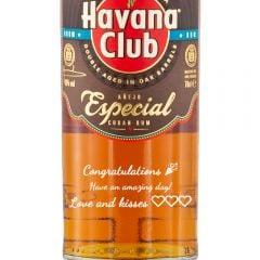 Personalised Havana Club Anejo Especial