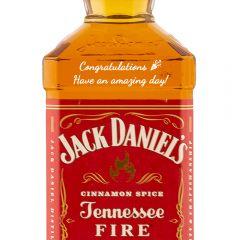 Personalised Jack Daniels Fire