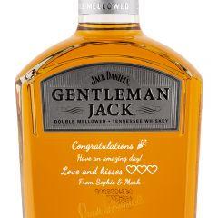 Personalised Jack Daniels Gentleman Jack