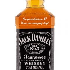 Personalised Jack Daniels No7