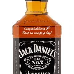 Personalised Jack Daniels Old No7 1 Litre