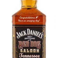Personalised Jack Daniels Red Dog Saloon