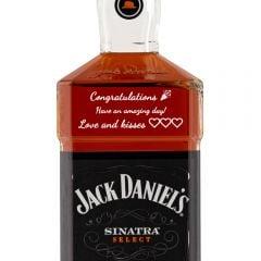 Personalised Jack Daniels Sinatra Select